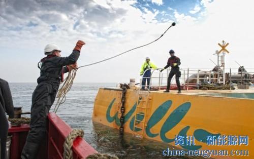 新能源--Wello与中国企业建立波浪能合作关系