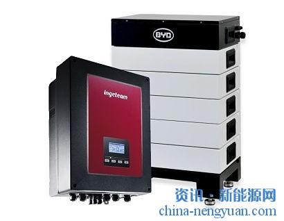 Ingeteam的混合太阳能+储能逆变器现在与比亚迪的高压电池兼容