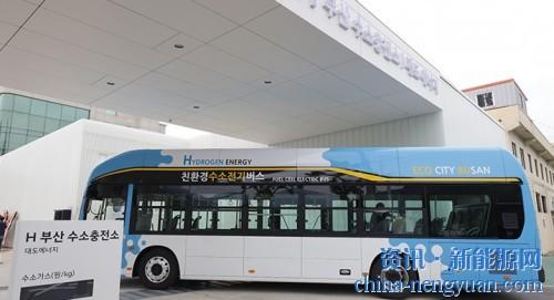 韩国釜山市2022年将扩建19座加氢站 现代汽车首推H-Bus
