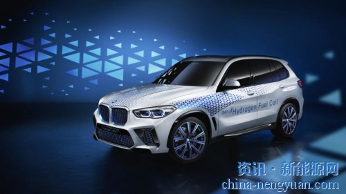 宝马X5氢燃料电池概念车亮相法兰克福车展