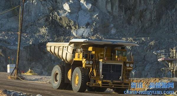 巴拉德将为英美资源集团采矿卡车项目提供900千瓦的燃料电池