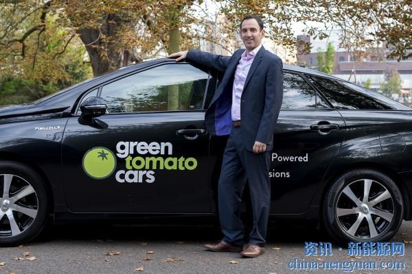 """氢燃料汽车使伦敦""""绿番茄""""成为欧洲最大的零排放车队"""