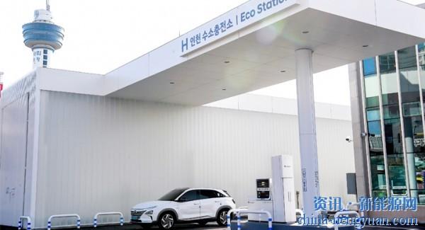 现代汽车与SK Gas合作建造了仁川的第一座加氢站