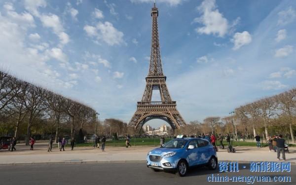 法国巴黎:600辆氢动力出租车在今年上路