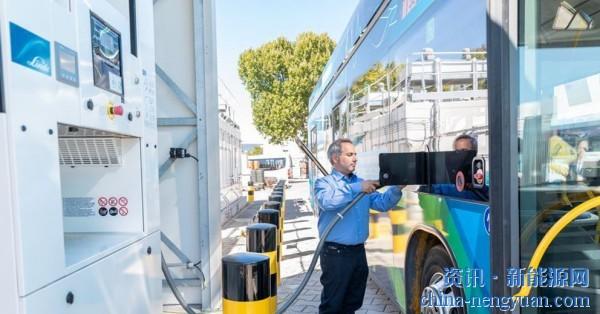 林德携手大连冰山集团 将氢加注站产能提高两倍