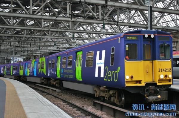 苏格兰:计划在COP26推出其第一辆氢动力客运列车