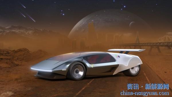 续航超4000公里!SCG展示了未来的液氢超跑概念图