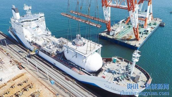 川崎重工计划用氢气复制LNG供应链