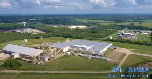 丹森集团将建设美国最大的烧烤木颗粒基地