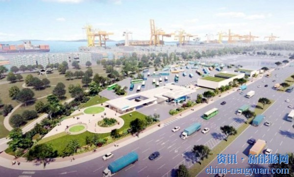 SK集团2023年将在韩国建设首座氢能港