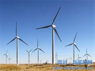 风能发电机组成为戈壁滩上别样风景线